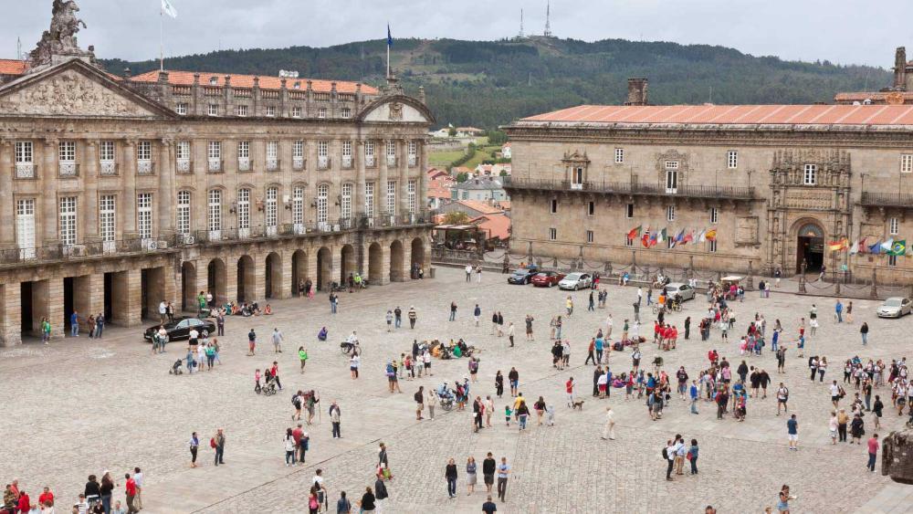Parking En Ayuntamiento De Santiago De Compostela Santiago De Compostela Saba Aparcamiento