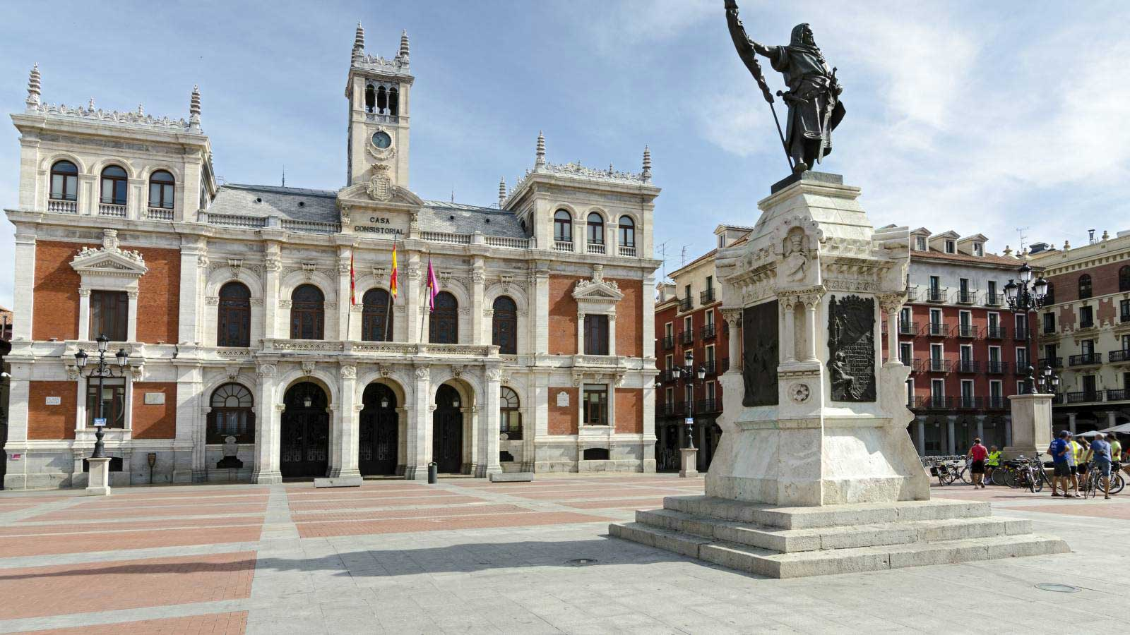 Valladolid City Hall and Main Square